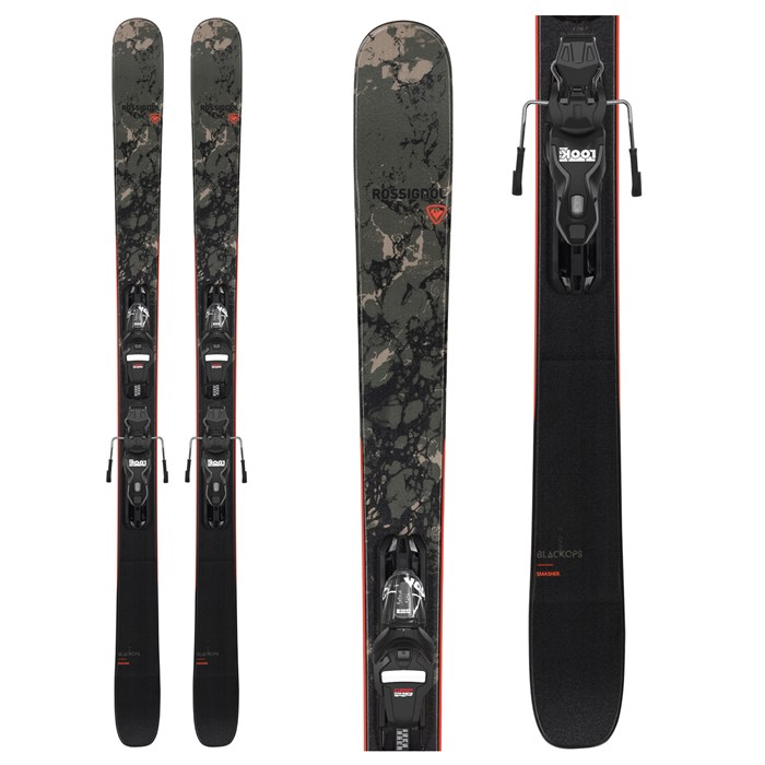 Rossignol - Black Ops Smasher Skis + Xpress 10 GW Bindings 2021