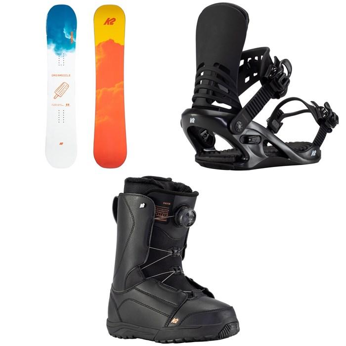 K2 - Dreamsicle Snowboard + Cassette Snowboard Bindings + Haven Snowboard Boots - Women's 2021