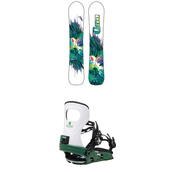 GNU - Chromatic BTX Snowboard + Bent Metal Metta Snowboard Bindings - Women's 2021
