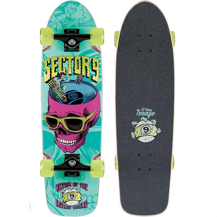 Sector 9 - Return of Shred Cruiser Skateboard Complete
