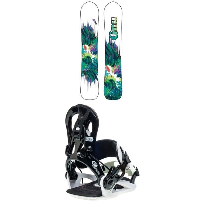 GNU - Chromatic BTX Snowboard + B-Real Snowboard Bindings - Women's 2021