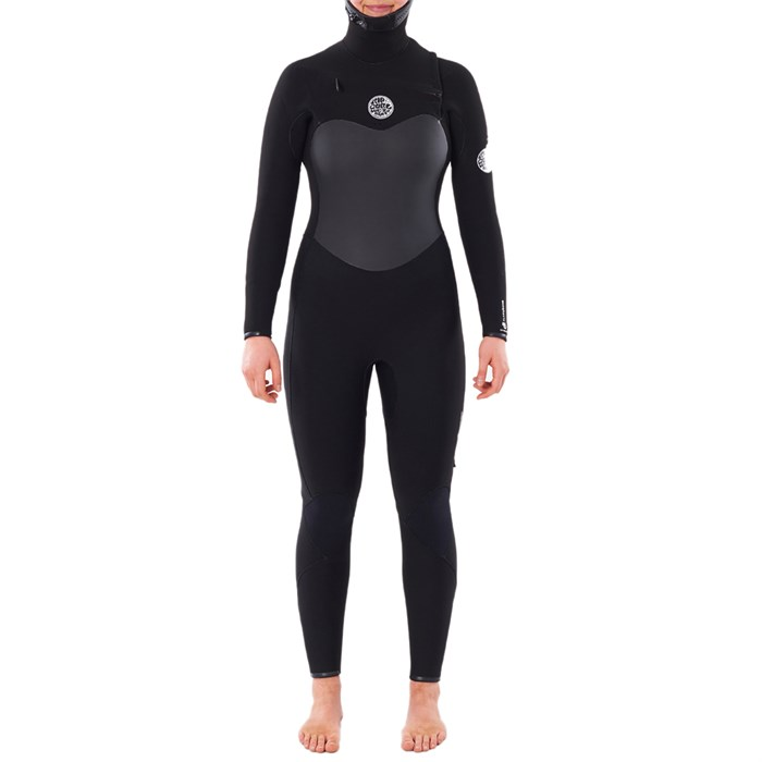 Rip Curl - 5/4 Flashbomb Steamer Hooded Wetsuit - Women's