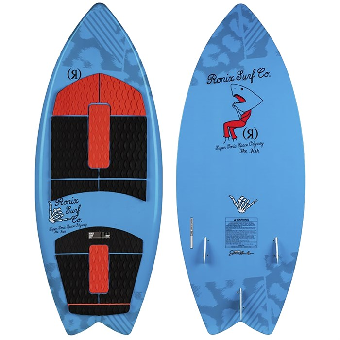 Ronix - Super Sonic Space Odyssey Fish Wakesurf Board - Blem - Kids' 2020