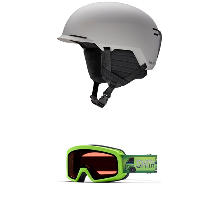 Smith - Scout Jr. Helmet + Rascal Goggles - Big Kids'