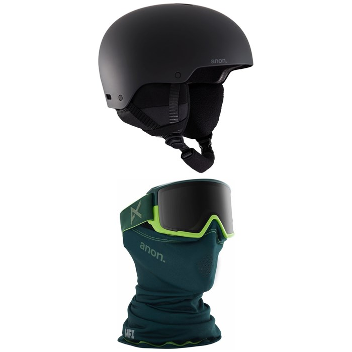 Anon - Raider 3 Helmet + M3 MFI Goggles