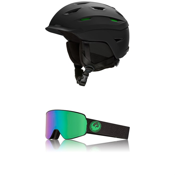 Smith - Level MIPS Helmet + Dragon NFX2 Goggles