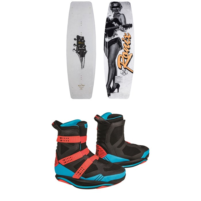 Ronix - Press Play ATR + Supreme Wakeboard Package 2019