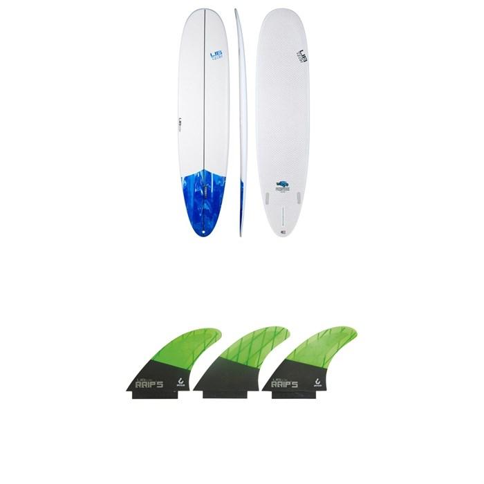 Lib Tech - Pickup Stick Surfboard + Lib Tech Tri Large Fin Set