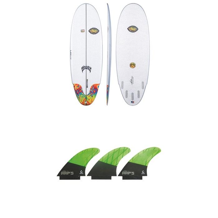 Lib Tech - x Lost Freak Flag Bean Bag Surfboard + Lib Tech Tri Large Fin Set