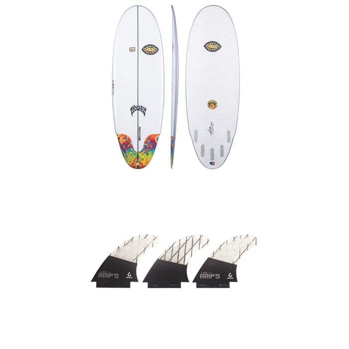 Lib Tech - x Lost Freak Flag Bean Bag Surfboard + Lib Tech Tri Medium Fin Set