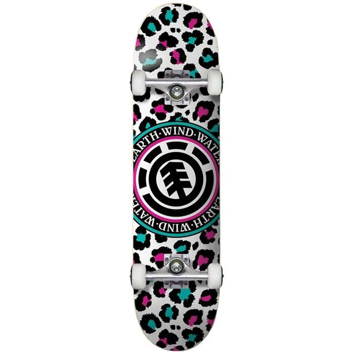 Element - Leopard Party 7.7 Skateboard Complete