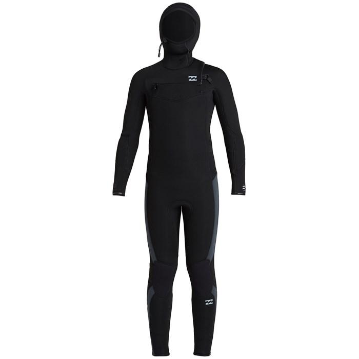 Billabong - 5/4 Absolute Chest Zip Hooded Wetsuit - Boys'
