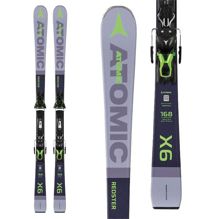 Atomic - Redster X6 Skis + FT 11 GW Bindings 2020