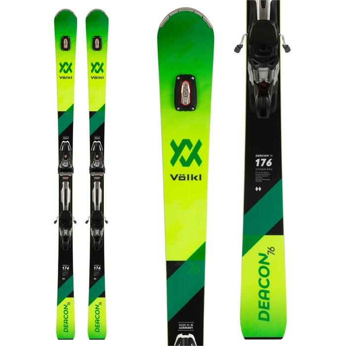 Volkl - Deacon 76 Skis + rMotion2 12 GW Bindings 2020