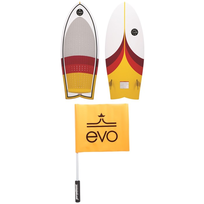 Connelly - Cuda Wakesurf Board 2020 + Free Proline x evo Safety Flag