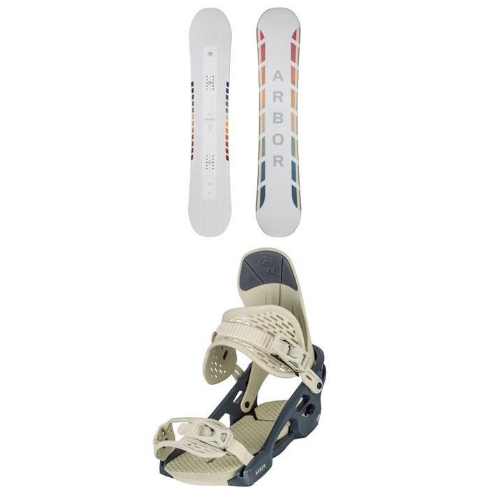 Arbor - Poparazzi Camber Snowboard + Acacia Snowboard Bindings - Women's 2021