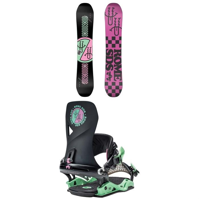 Rome - Artifact Snowboard + Vice Snowboard Bindings 2021