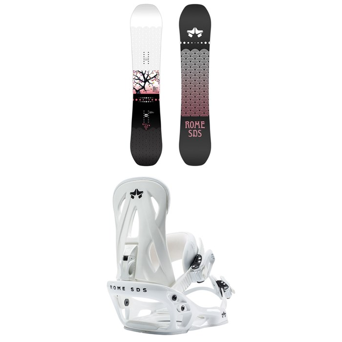 Rome - Royal Snowboard + Shift Snowboard Bindings - Women's 2021