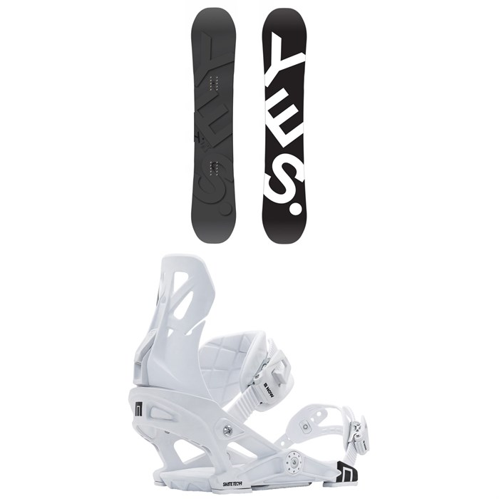 Yes. - Basic Snowboard + Now B-Line Snowboard Bindings 2021