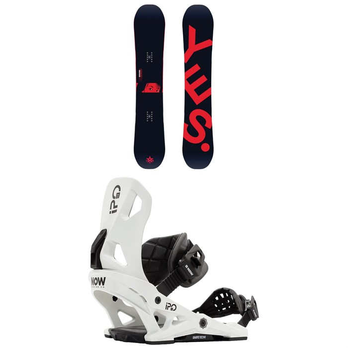 Yes. - Typo Snowboard + Now IPO Snowboard Bindings 2021