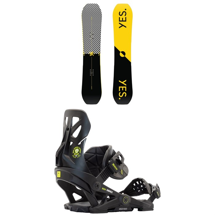 Yes. - Jackpot Snowboard + Now Brigade Snowboard Bindings 2021