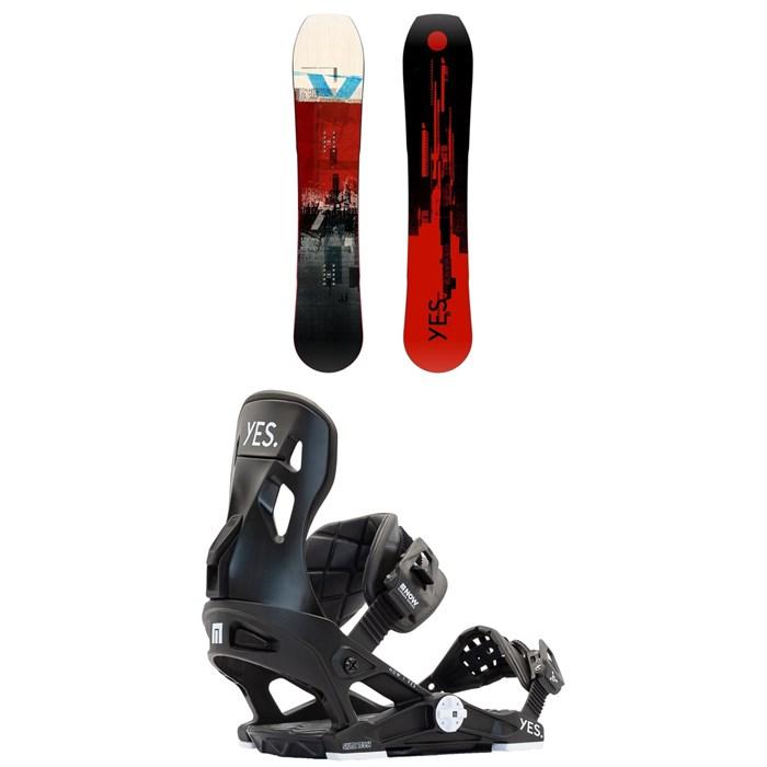 Yes. - Hybrid Snowboard + Now x Yes. Snowboard Bindings 2021