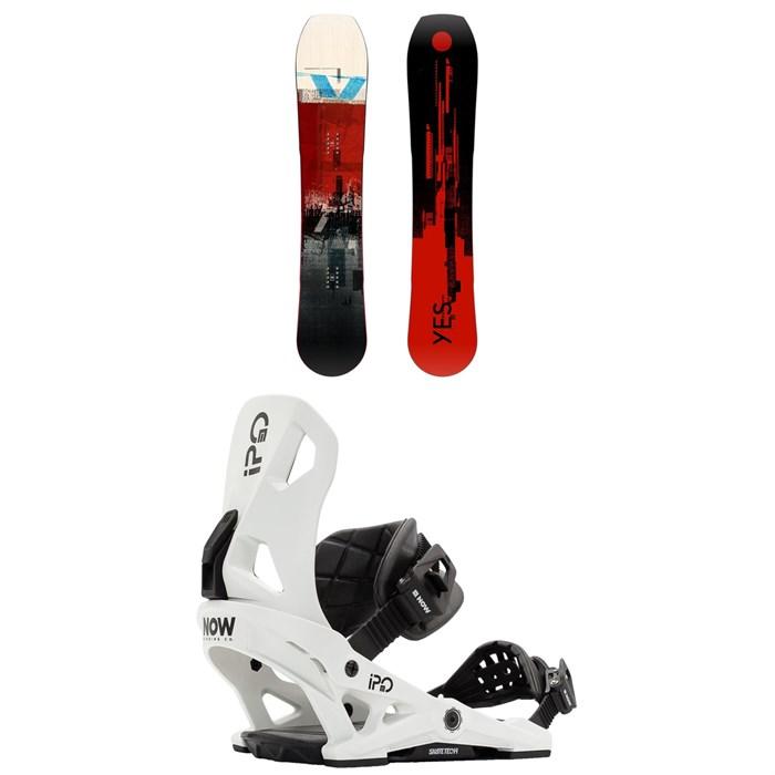 Yes. - Hybrid Snowboard + Now IPO Snowboard Bindings 2021