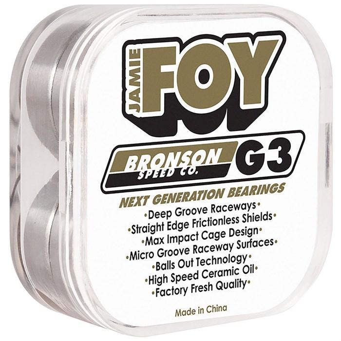 Bronson - Jamie Foy Pro G3 Skateboard Bearings
