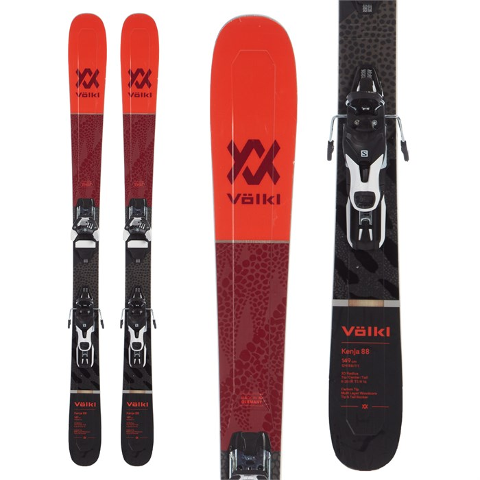 Volkl - Kenja 88 Skis + Warden 11 Demo Bindings - Women's 2020 - Used