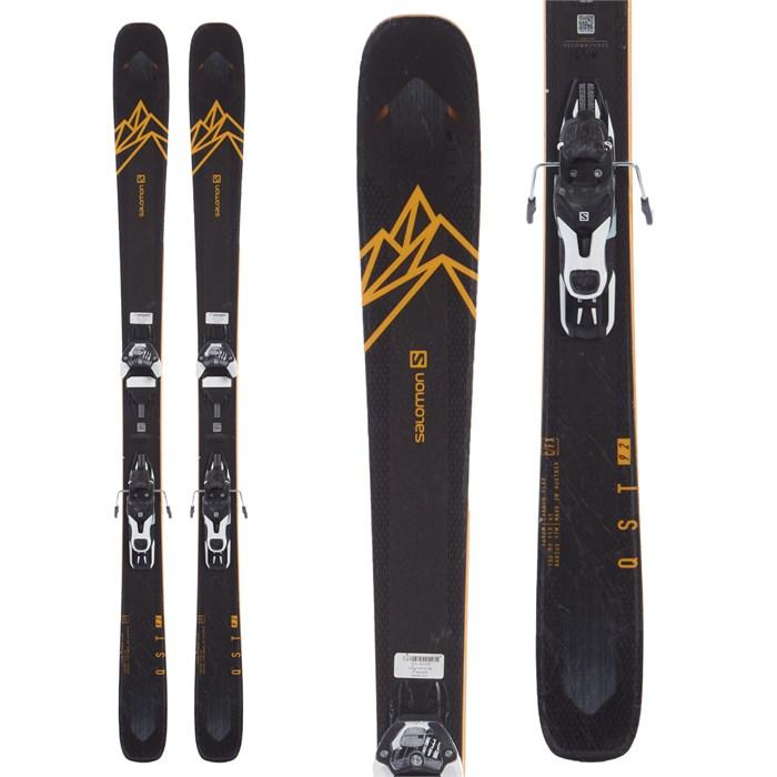 Salomon - QST 92 Skis + Warden 11 Demo Bindings 2020 - Used