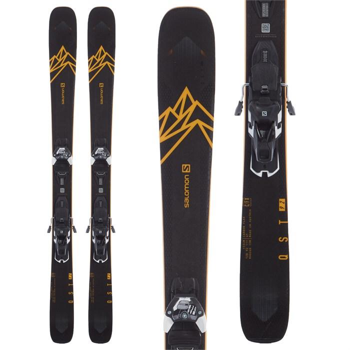 Salomon - QST 92 Skis + Warden 13 Demo Bindings 2020 - Used