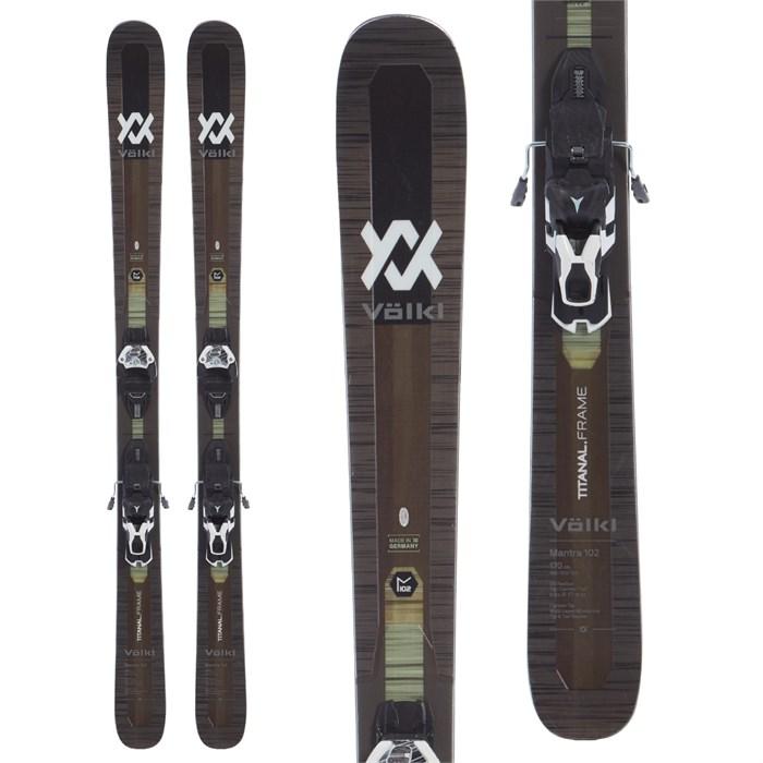 Völkl - Mantra 102 Skis + Warden 13 Demo Bindings 2020 - Used