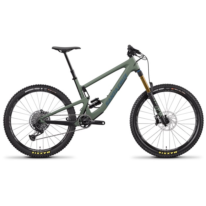 Santa Cruz Bicycles - Bronson CC X01 Complete Mountain Bike 2021