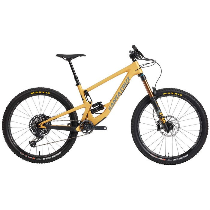 Santa Cruz Bicycles - Bronson CC X01 Complete Mountain Bike 2021