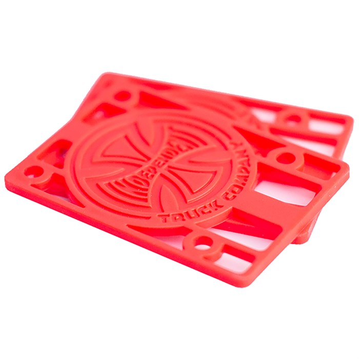 Independent - Genuine Parts Risers 1/8 Red Riser Pads