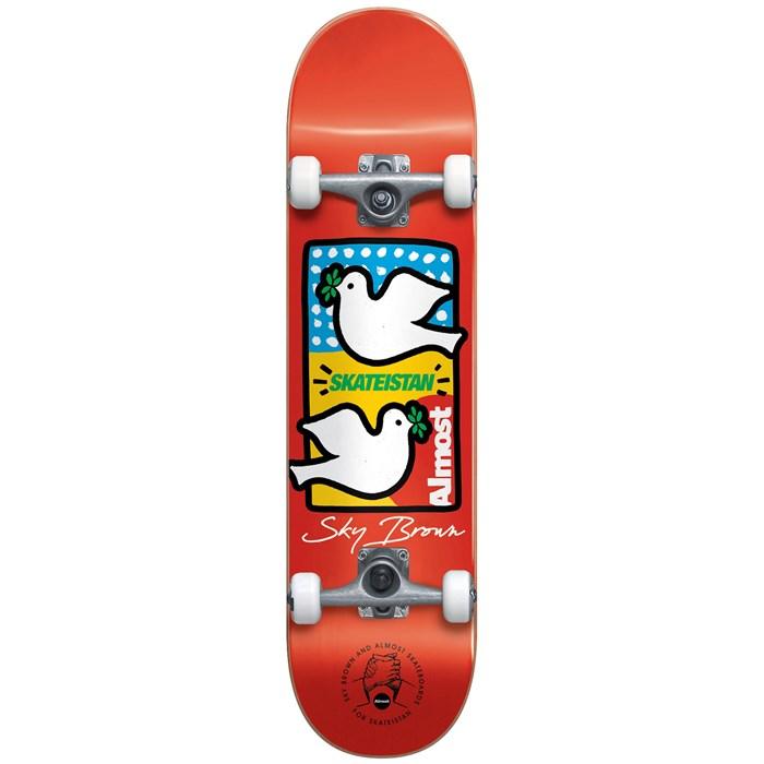 Almost - Sky Brown Double Doves Skateistan 7.5 Skateboard Complete - Big Kids'