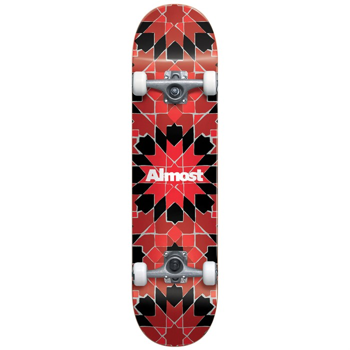 Almost - Tile Pattern FP 7.75 Skateboard Complete