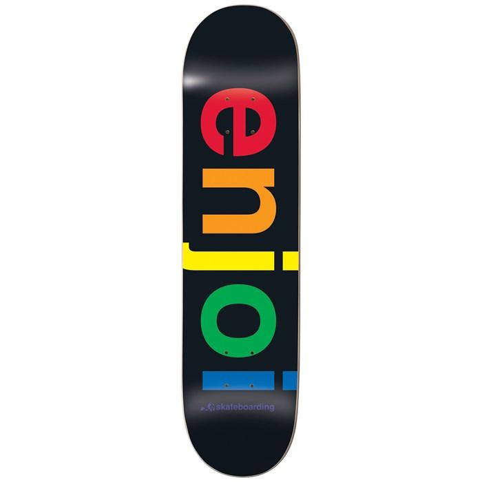 Enjoi - Spectrum Black R7 8.25 Skateboard Deck