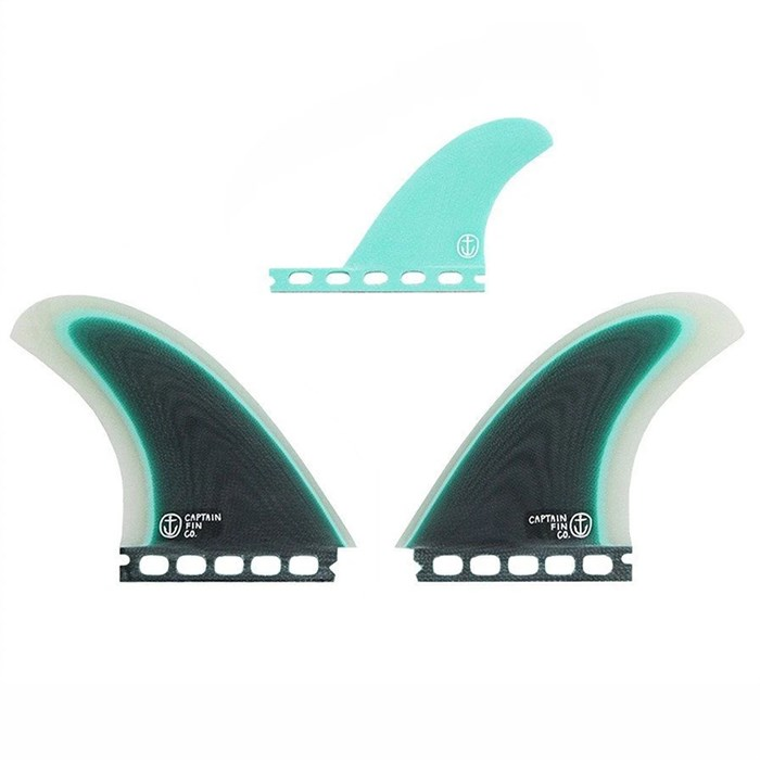 Captain Fin - CF Twin Especial Single Tab Twin Fin Set