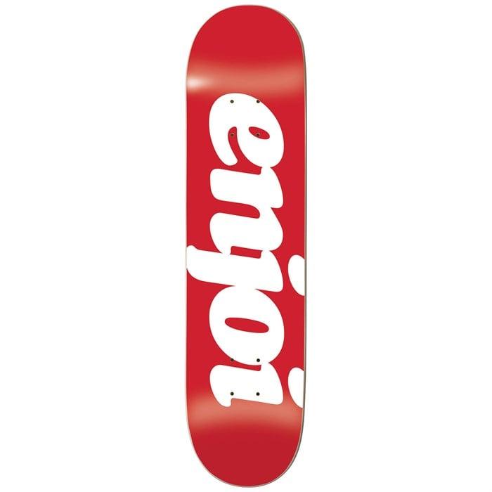 Enjoi - Flocked HYB Red 7.75 Skateboard Deck