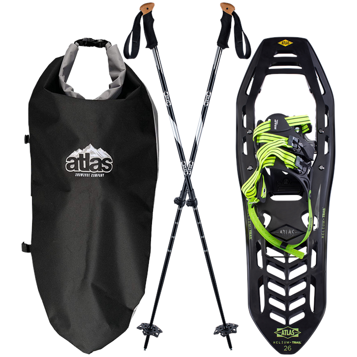 Atlas - Helium Trail Snowshoes Kit