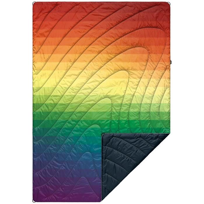 Rumpl - Original Puffy Blanket - Rainbow Fade