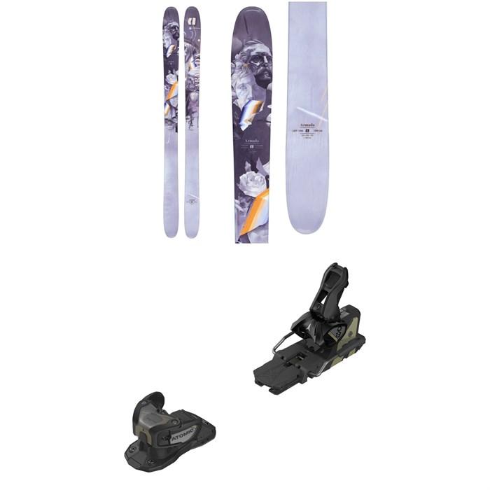 Armada - ARV 106 Skis + Atomic Warden MNC 13 Ski Bindings 2021