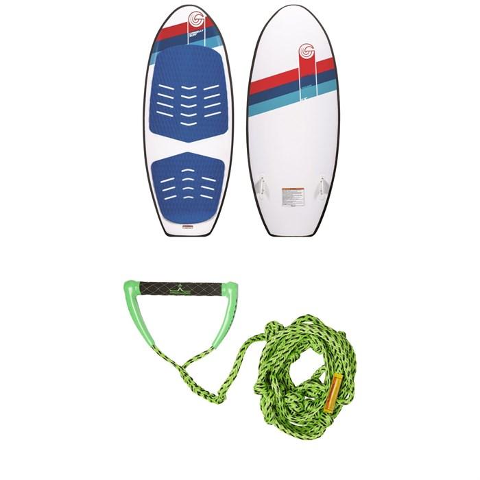 Connelly - Laguna Wakesurf Board + Proline x evo LGS Surf Handle + 25 ft Air Line