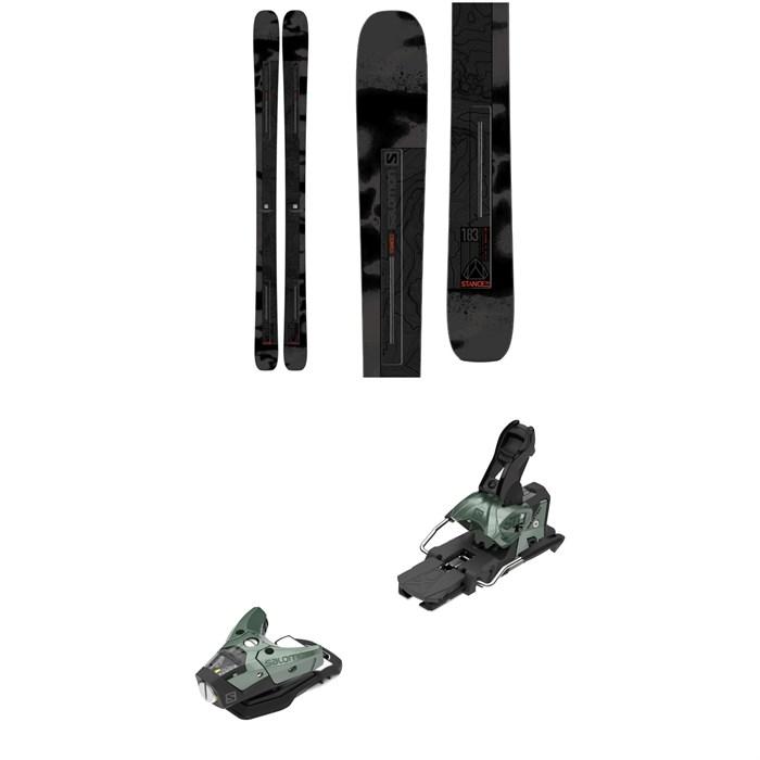 Salomon - Stance 102 Skis + STH2 WTR 16 Ski Bindings 2021