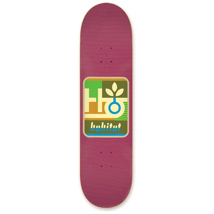 Habitat - Mod Pod Red 7.875 Skateboard Deck