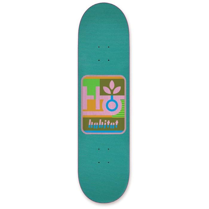 Habitat - Mod Pod Green 8.25 Skateboard Deck