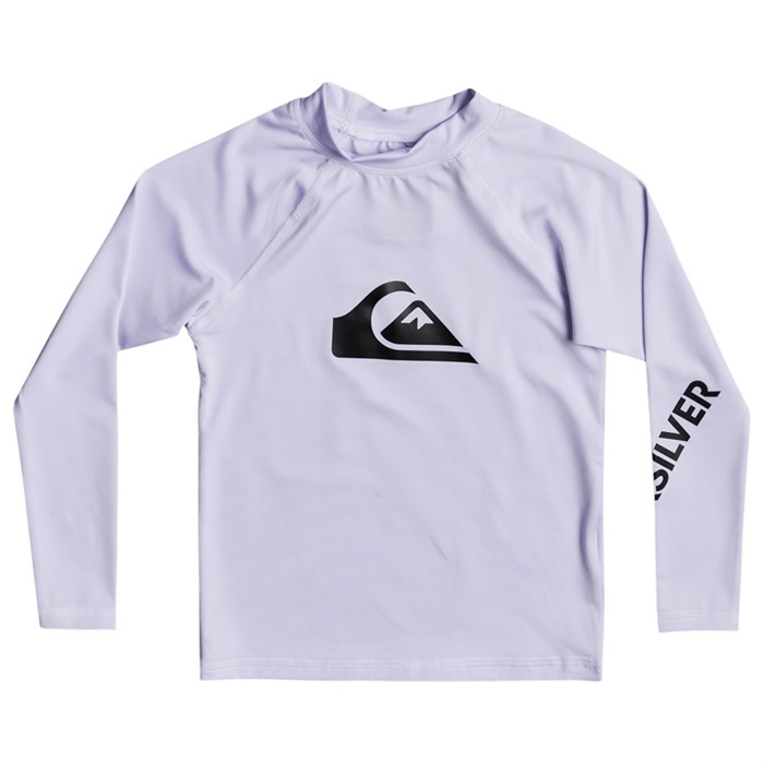 Quiksilver - All Time Long-Sleeve Rashguard - Boys'