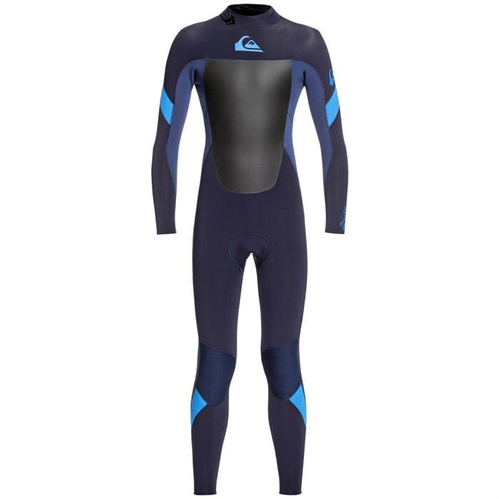 Quiksilver - 4/3 Syncro Back Zip Wetsuit - Boys'