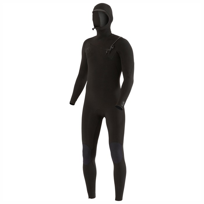 Vissla - 7 Seas 4/3 Chest Zip Hooded Wetsuit